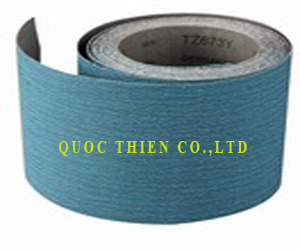 abrasive zirconia flexible cloth roll