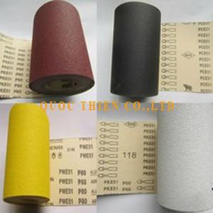 Nhám cuộn vải cứng