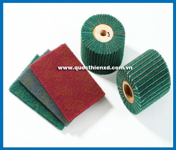 TNDB01 - Non Woven Abrasive Interleaved Flap Wheel