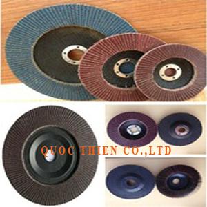 NX02 - Abrasive flap discs